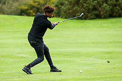 Andre Alexis Jr in action during the Annual Bristol Rovers Golf Day - Rogan/JMP - 09/10/2017 - GOLF - Farrington Park - Bristol, England - Bristol Rovers Golf Day.