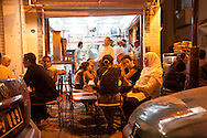 port of la Goulette near Tunis, cafes restaurants,  Tunis - Tunisie  .///.la Goulette port pres de Tunis, sortie favorite des tunisiens, cafes restaurants,  Tunis - Tunisie .///.TUNIS081
