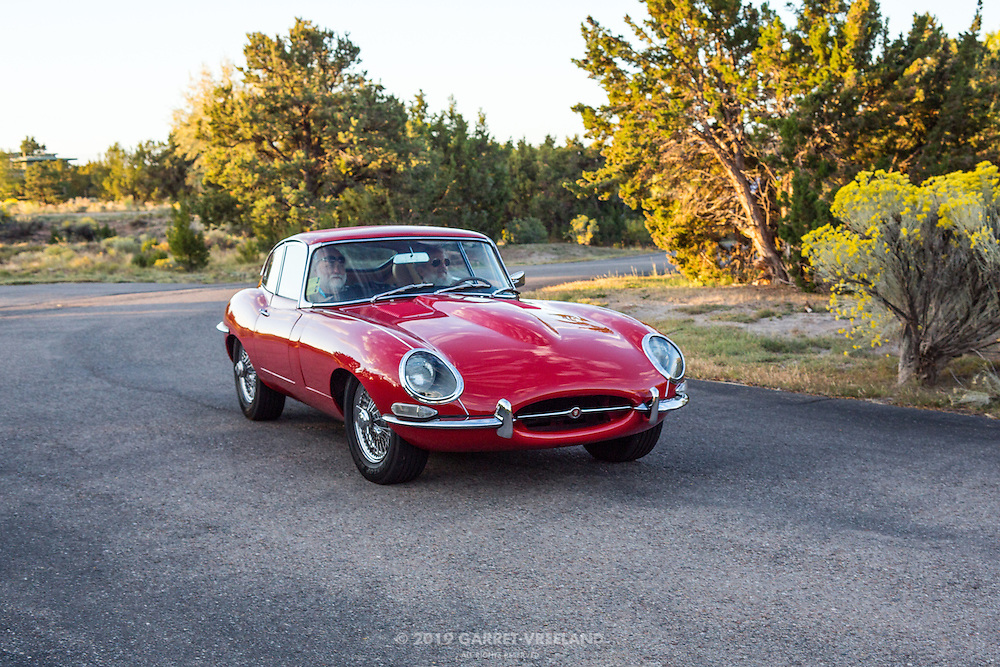 1965 Jaguar XK-E Series 1 Fixed Head Coupe, 2012 Santa Fe Concorso High Mountain Tour.
