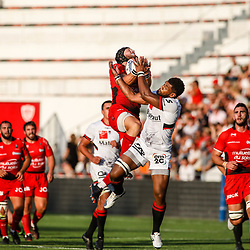 Jean Monribot of Toulon during the pre-season match between Rc Toulon and Lyon OU at Felix Mayol Stadium on August 17, 2017 in Toulon, France. (Photo by Guillaume Ruoppolo/Icon Sport)