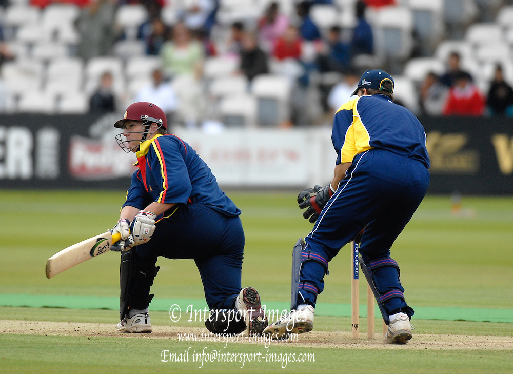 London, GREAT BRITAIN, Toby BAILEY, during the MCC vs Europe Match at Lords Cricket ground, England on Thur 07.06.2007  [Photo, Peter Spurrier/Intersport-images].....