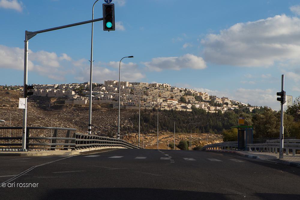 Ramat Shlomo - Extansion de Jérusalem en dehors de la Ligne Verte
