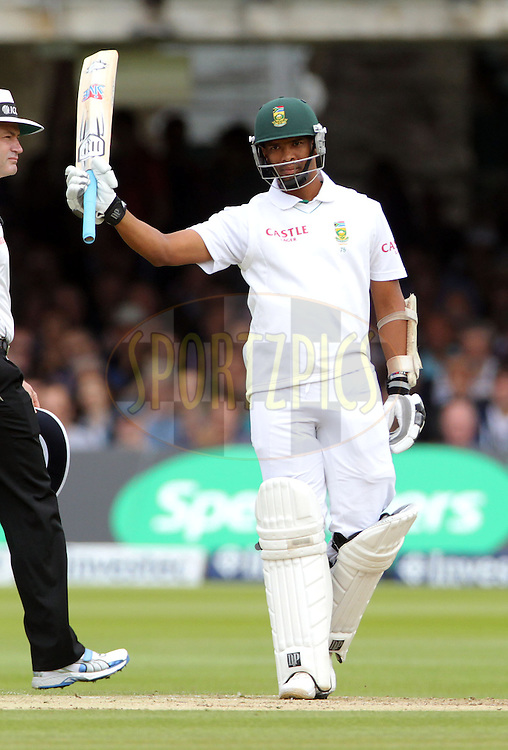 © Andrew Fosker / Seconds Left Images 2012 - South Africa's Vernon Philander celebrates his 50 runs England v South Africa - 3rd Investec Test Match - Day 2 - Lord's Cricket Ground - 17/08/2012 - London - UK - All rights reserved