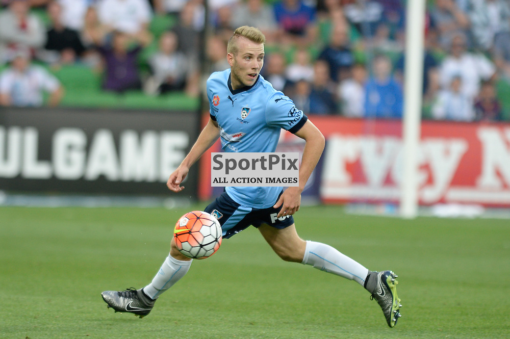 Andrew Hoole of Sydney FC - Hyundai A-League, January 2nd 2016, RD13 match between Melbourne City FC V Sydney FC at Aami Park, Melbourne, Australia in a 2:2 draw. © Mark Avellino | SportPix.org.uk