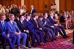 NEWPORT, WALES - Saturday, May 21, 2016: Players during at the Under-16's cap presentation at the Celtic Manor Resort. (Pic by David Rawcliffe/Propaganda)