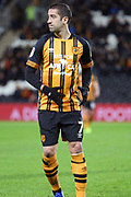 Hull City midfielder Evandro Goebel (7)  during the EFL Sky Bet Championship match between Hull City and Swansea City at the KCOM Stadium, Kingston upon Hull, England on 22 December 2018.