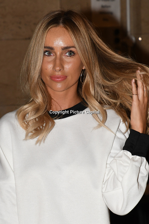 Celebrities attend Fashion Scout - SS19 - London Fashion Week - Day 1, London, UK. 14 September 2018.