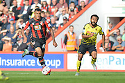 AFC Bournemouth's striker Joshua King on the attack during the Barclays Premier League match between Bournemouth and Watford at the Goldsands Stadium, Bournemouth, England on 3 October 2015. Photo by Mark Davies.