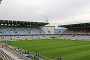 Inside the Jan Breeder Stadium before the Champions League Qualifying Play-Off Round match between Club Brugge and Manchester United at the Jan Breydel Stadion, Brugge, Belguim on 26 August 2015. Photo by Phil Duncan.