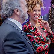 NLD/Amsterdam/20190415 - Filmpremiere première Baantjer het Begin, Katja Schuurman en haar vader
