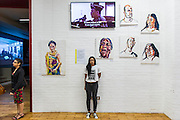 Myuran Sukumaran - launch of a new exhibition of work created during his 10 years on death row. The Australian artist is set to be executed in Indonesia next month. Organised by his cousin Niranjela Karunatilake (pictured in a t-shirt made in his prison), the showcase has been put on to draw attention to his case, and to mark Sukumaran's 34th birthday on Friday April 17. Human Rights Action Centre, London.
