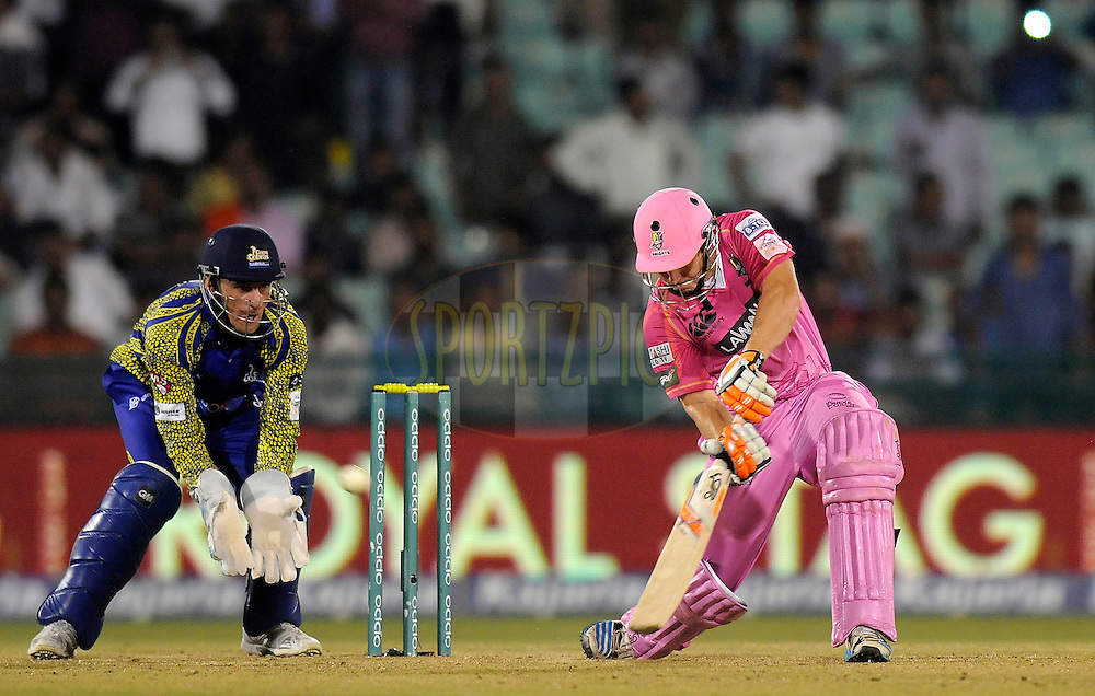 BJ Watling of Northern Knights bats during match 3 of the Oppo Champions League Twenty20 between the Cape Cobras and the Northern Knights held at the Chhattisgarh International Cricket Stadium, Raipur, India on the 19th September 2014<br /> <br /> Photo by:  Pal Pillai / Sportzpics/ CLT20<br /> <br /> <br /> Image use is subject to the terms and conditions as laid out by the BCCI/ CLT20.  The terms and conditions can be downloaded here:<br /> <br /> http://sportzpics.photoshelter.com/gallery/CLT20-Image-Terms-and-Conditions-2014/G0000IfNJn535VPU/C0000QhhKadWcjYs