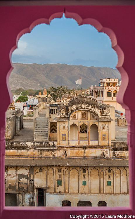 Pushkar View from Hotel, India