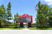 Wilson Field Home of Chapman Panthers Sign and Field Entrance