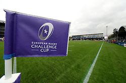 European Rugby Challenge cup branding at Sixways Stadium  - Mandatory by-line: Dougie Allward/JMP - 22/10/2016 - RUGBY - Sixways Stadium - Worcester, England - Worcester Warriors v Brive - European Challenge Cup