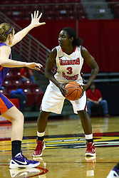 01 January 2012:  Candace Sykes during an NCAA women's basketball game between the Evansville Purple Aces and the Illinois Sate Redbirds at Redbird Arena in Normal IL