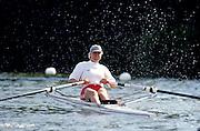 Henley Royal Regatta, Henley on Thames, ENGLAND,  1996,  Women's Single Sculls.MH Bradin, Kungalvs Rk, SWEDEN,  SWE, W1X, Maria Brandin, Photo: Peter Spurrier/Intersport Images.  Mob +44 7973 819 551/email images@intersport-images.com