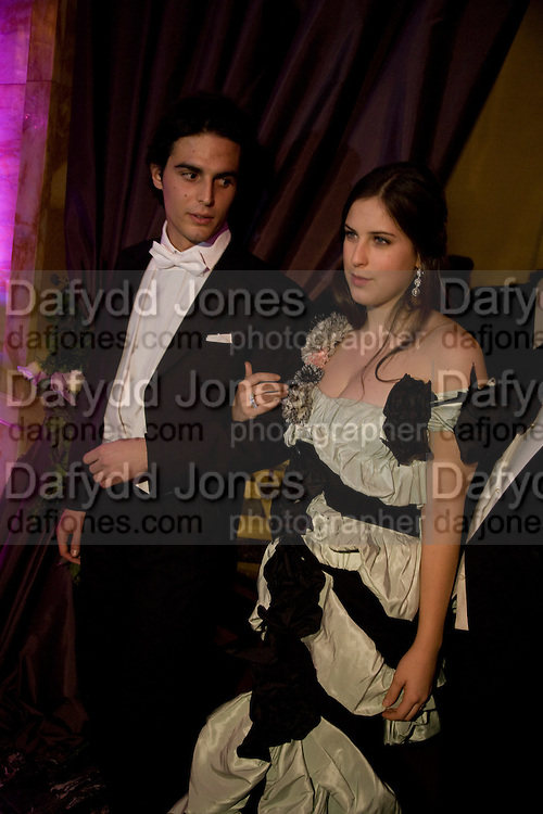 SCOUT WILLIS; EDOUARD DE BERNIS, The 2008 Crillon Debutante Ball, Crillon Hotel. Paris. 29 November 2008 *** Local Caption *** -DO NOT ARCHIVE -Copyright Photograph by Dafydd Jones. 248 Clapham Rd. London SW9 0PZ. Tel 0207 820 0771. www.dafjones.com