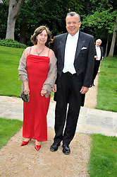 MR & MRS YURI FEDOTOV he is The Ambasador of the Russian Federation at the Raisa Gorbachev Foundation fourth annual fundraising gala dinner held at Stud House, Hampton Court, Surrey on 6th June 2009.