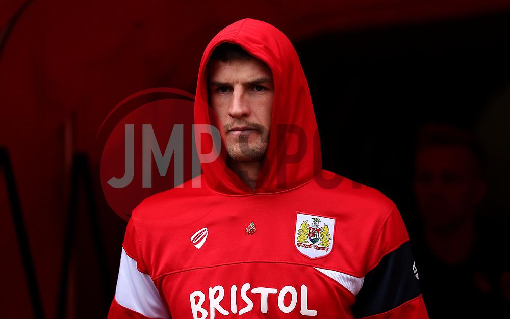 Aden Flint of Bristol City - Mandatory by-line: Robbie Stephenson/JMP - 28/10/2017 - FOOTBALL - Stadium of Light - Sunderland, England - Sunderland v Bristol City - Sky Bet Championship