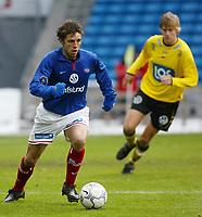 Fotball. Eliteserien Vålerenga - Start. Freddy Dos Santos, Vålerenga.<br /> <br /> Foto: Andreas Fadum, Digitalsport