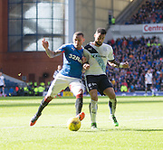 Rangers&rsquo; James Tavernier and Dundee&rsquo;s Kane Hemmings - Rangers v Dundee, William Hill Scottish Cup quarter final at Ibrox Park<br /> <br />  - &copy; David Young - www.davidyoungphoto.co.uk - email: davidyoungphoto@gmail.com