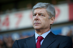 WEST BROMWICH, ENGLAND - Saturday, March 19, 2011: Arsenal's manager Arsene Wenger' before the Premiership match against West Bromwich Albion at the Hawthorns. (Photo by David Rawcliffe/Propaganda)