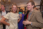 FLORENCE UNIAKE; SILAS BROWN, Elliott and Thompson host a book launch of How the Queen can Make you Happy by Mary Killen.- Book launch. The O' Shea Gallery. St. James's St. London. 20 June 2012.
