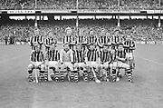 All Ireland Senior Hurling Final - Kilkenny v Galway,.Kikenny 2-12, Galway 1-8,.02.09.1979, 09.02.1979, 2nd September 1979, 02091979AISHCF,...Back row from left, Paddy Prendergast, NIcky Brennan, Matt Ruth, Richie Reid, Billy Fitzpatrick, Frank Cummins, MIck Crotty, Fan Larkin, .Front row from left- Joe Hennesy, Liam 'Chunky' O'Brien, Noel Skehan, Ger Fennelly captain, Mick Brennan, John Henderson, Ger Henderson,