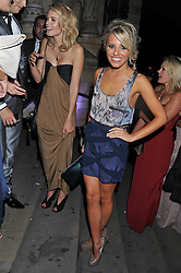 MOLLIE KING at The Global Party held at The Natural History Museum, Cromwell Road, London on 8th September 2011.