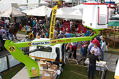 Height for hire at National Ploughing Championships, at Ratheniska, Co. Laois.