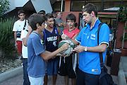 Cagliari, 04/08/2009<br /> Allenamenti Nazionale Italiana Maschile Senior<br /> Nella foto: Giuseppe Poeta<br /> Foto Ciamillo