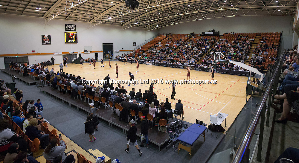 PG Arena. NBL Preseason basketball, NZ Breakers v Brisbane Bullets, PG Arena, Napier, New Zealand. Thursday 16 September, 2016. Copyright photo: John Cowpland / www.photosport.nz