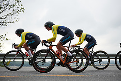 Swedish national team at Ladies Tour of Norway 2018 Team Time Trial, a 24 km team time trial from Aremark to Halden, Norway on August 16, 2018. Photo by Sean Robinson/velofocus.com