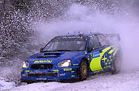 AUTO - WRC 2005 - SWEDISH RALLY - KARLSTAD 13/02/2005 - PHOTO : FRANCOIS FLAMAND / DIGITALSPORT<br />