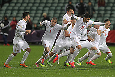 Auckland-Football, Under 20 World Cup, Serbia v USA