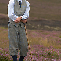 The under keeper John Carslake of Glen Lethnot estate make the final checks and preparations .in the build up  to the Glorious 12th, the official start of the red grouse shooting season (this year Monday 13th August)  ANGUS, SCOTLAND AUG 10 ..The Glorious Twelfth is usually used to refer to August 12, the start of the open season for grouse shooting in the United Kingdom. This is one of the busiest days in the shooting season, with large amounts of game being shot. It is also a major boost to the rural economy. ..Since the start of the season traditionally does not begin on a Sunday, it is sometimes postponed to August 13, as in 2001 . In recent years, the event has been hit by hunt saboteurs, the 2001 foot and mouth crisis (which further postponed the date in affected areas ) and the effect of sheep tick and the gut parasite Trichostrongylus tenius...The Game Conservancy Trust conducts scientific research into Britain's game and wildlife. Advising farmers and landowners on improving wildlife habitat and lobbying for agricultural and conservation policies based on science..Many of their  supporters take part in field sports.