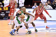 DESCRIZIONE : Milano Lega A 2014-15 EA7 Emporio Armani Milano vs Sidigas Avellino<br /> GIOCATORE : Gaines Sundiata<br /> CATEGORIA : Controcampo Palleggio blocco<br /> SQUADRA : Sidigas Avellino<br /> EVENTO : Campionato Lega A 2014-2015<br /> GARA : EA7 Emporio Armani Milano Sidigas Avellino<br /> DATA : 16/02/2015<br /> SPORT : Pallacanestro <br /> AUTORE : Agenzia Ciamillo-Castoria/I.Mancini<br /> Galleria : Lega Basket A 2014-2015  <br /> Fotonotizia : Milano Lega A 2014-2015 EA7 Emporio Armani Milano Sidigas Avellino<br /> Predefinita :