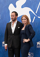 Tom Ford, Amy Adams at Nocturnal Animals film photocall at the 73rd Venice Film Festival, Sala Grande on Friday September 2nd 2016, Venice Lido, Italy.