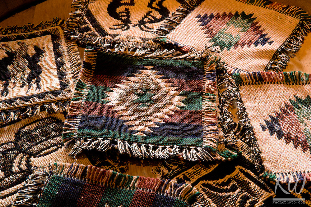 Southwestern Textiles at Kit Carson Home and Museum, Taos, New Mexico