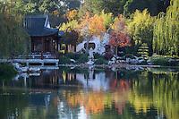 Chinese Garden at The Huntington Fall Colors, San Marino, California