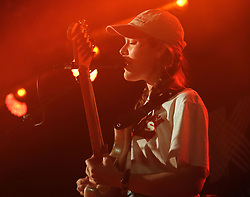KT Tunstall at Barrowlands Glasgow, UK tour of album 'Wax'<br /> <br /> Pictured: Laurel (support) - guitarist<br /> <br /> (c) Aimee Todd | Edinburgh Elite media