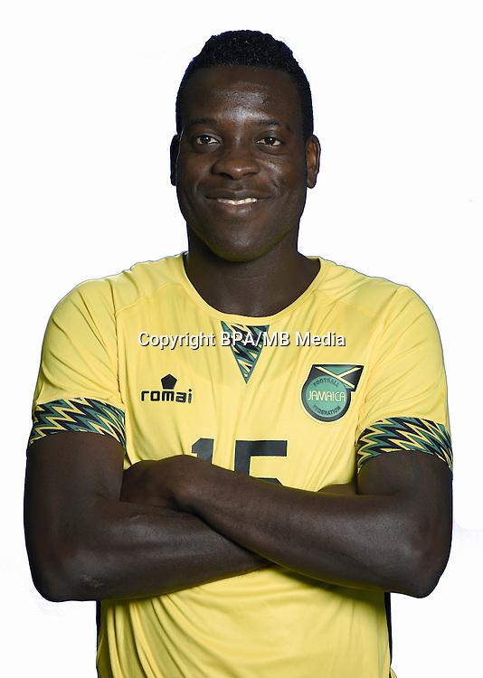 Football Conmebol_Concacaf - <br />Copa America Centenario Usa 2016 - <br />Jamaica National Team - Group C - <br />Je-Vaughn Watson