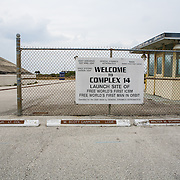 Launch Complex 14, site of the launch of John Glenn's orbital flight in 1962