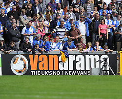 Vanarama ad board - Photo mandatory by-line: Joe Meredith/JMP - Mobile: 07966 386802 09/08/2014 - SPORT - FOOTBALL - Bristol - Memorial Stadium - Bristol Rovers v Grimsby Town - Vanarama Football Conference - First game of the season