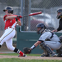 Westmont #4 Liam Brown vs Leland in a BVAL Baseball Game at Westmont High School, Campbell CA on 3//23/2018. (Photograph by Bill Gerth/ for SVCN) (Leland 9 Westmont 8)