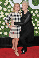 (R-L) Monica Potter and Daughter Molly Brigid Allison together at the 2017 CBS Television Studios Summer Soiree TCA Party held at the CBS Studio Center – New York Street in Studio City, CA on Tuesday, August 1, 2017. (Photo By Sthanlee B. Mirador) *** Please Use Credit from Credit Field ***