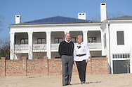 Solar power at the home of Lowry and Marla Lomax on Tuesday, February 2, 2010 in Oxford, Miss.