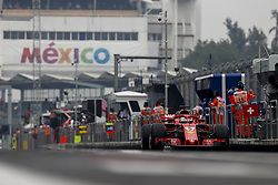 October 27, 2018 - Mexico-City, Mexico - Motorsports: FIA Formula One World Championship 2018, Grand Prix of Mexico, .#5 Sebastian Vettel (GER, Scuderia Ferrari) (Credit Image: © Hoch Zwei via ZUMA Wire)