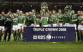 England v Ireland. 6 Nations 18-3-2006. Season 2005-2006